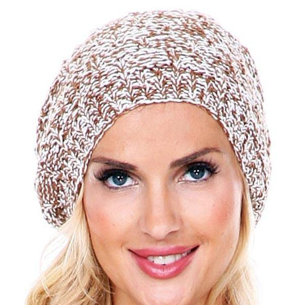 KNITTED BEANIE 100% COTTON CAP HAT
