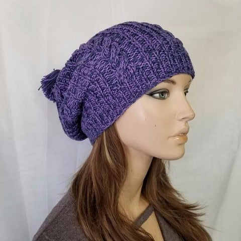 COZY KNITTED BEANIE CAP HAT