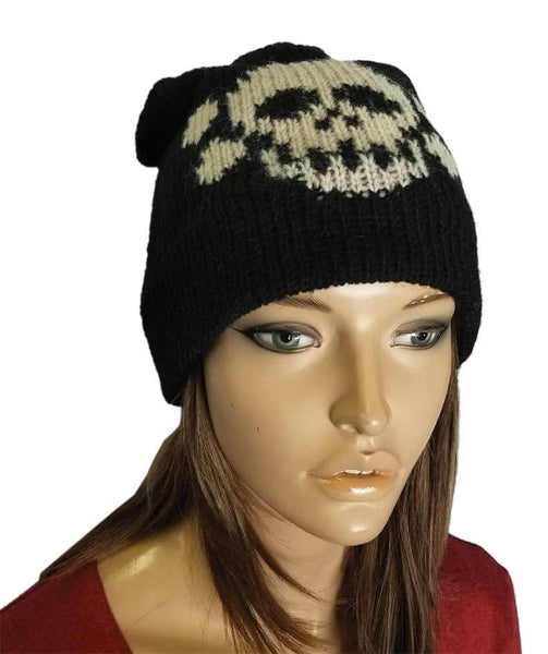 Skull Winter Beanie Hat