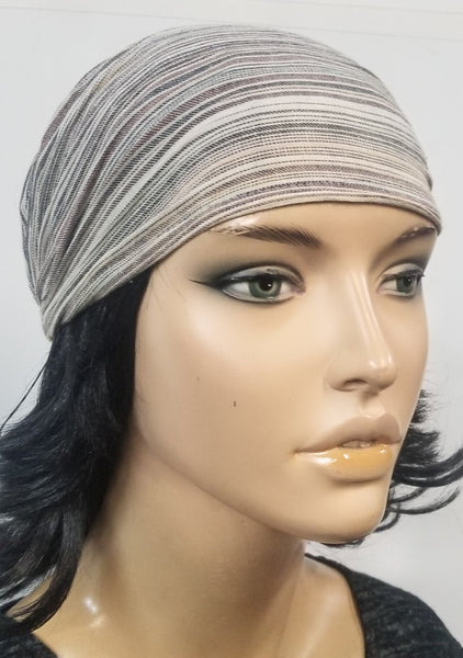 Headband/ Bandannas | Multi Striped Head Band