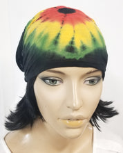 Rasta Tie Dyed Head Band