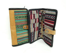 Multi Color Leather Wallet