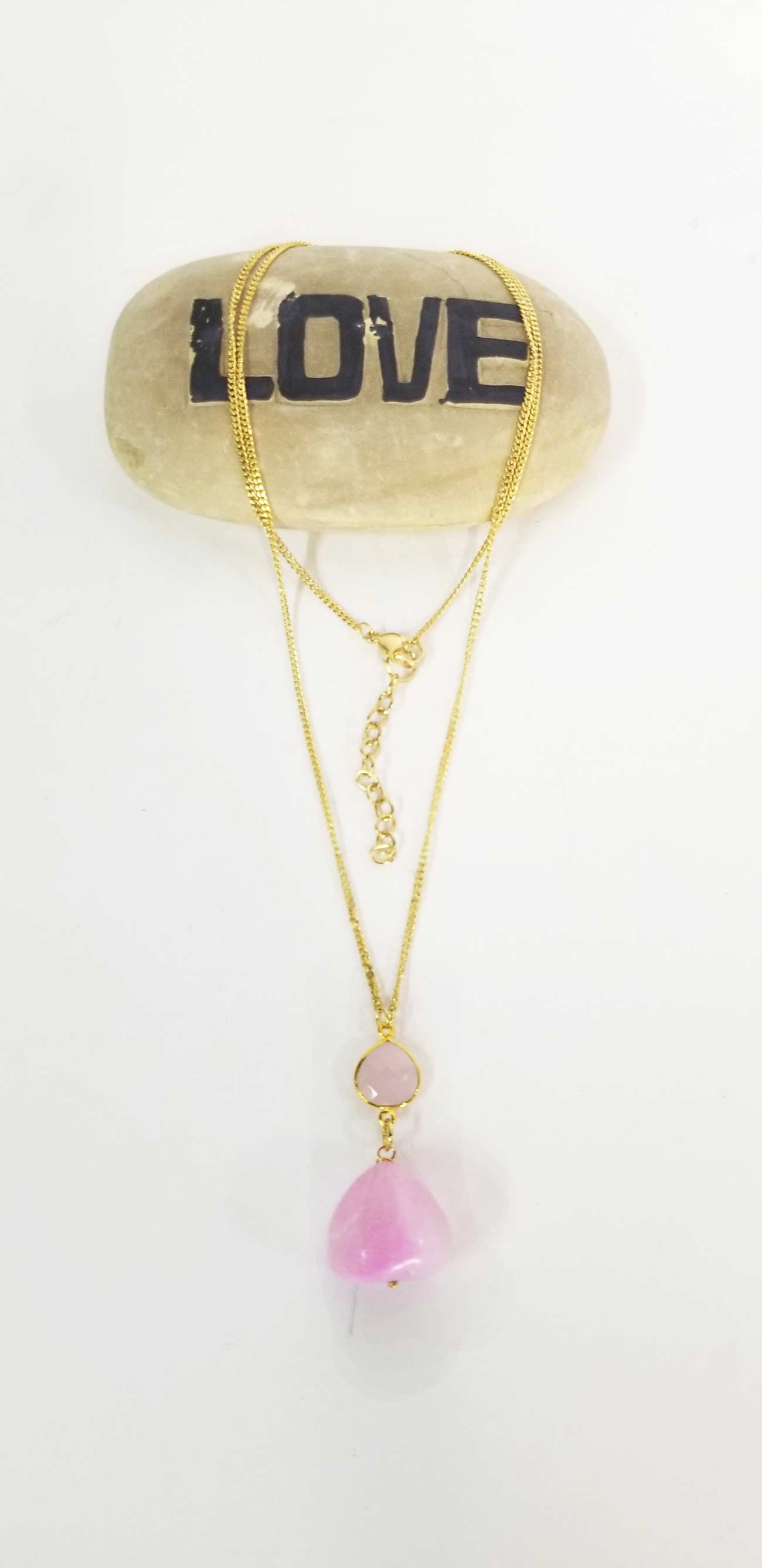 Accessories | Mala | Long Necklace Rose Quartz