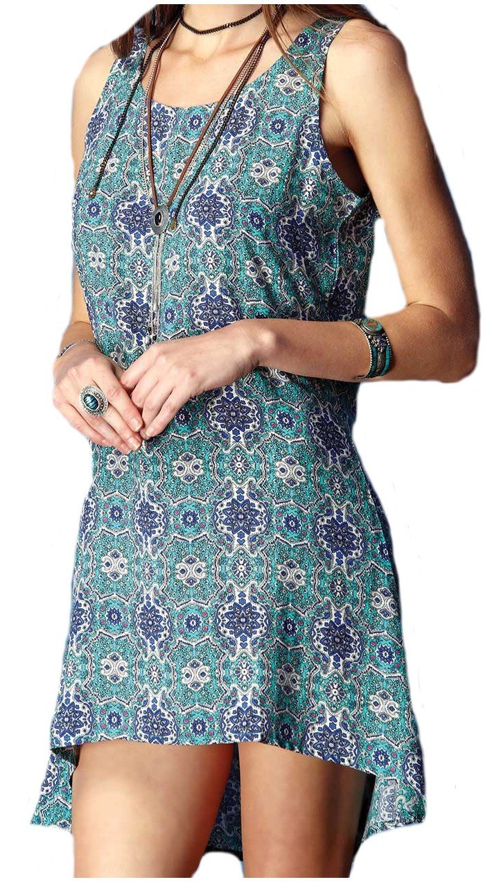 SUMMER SOFT MANDALA DRESS