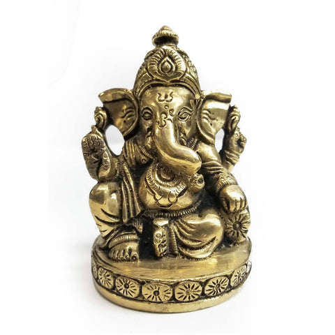 Statue | Home Decoration | Ganesh statue | Brass Sitting Ganesh