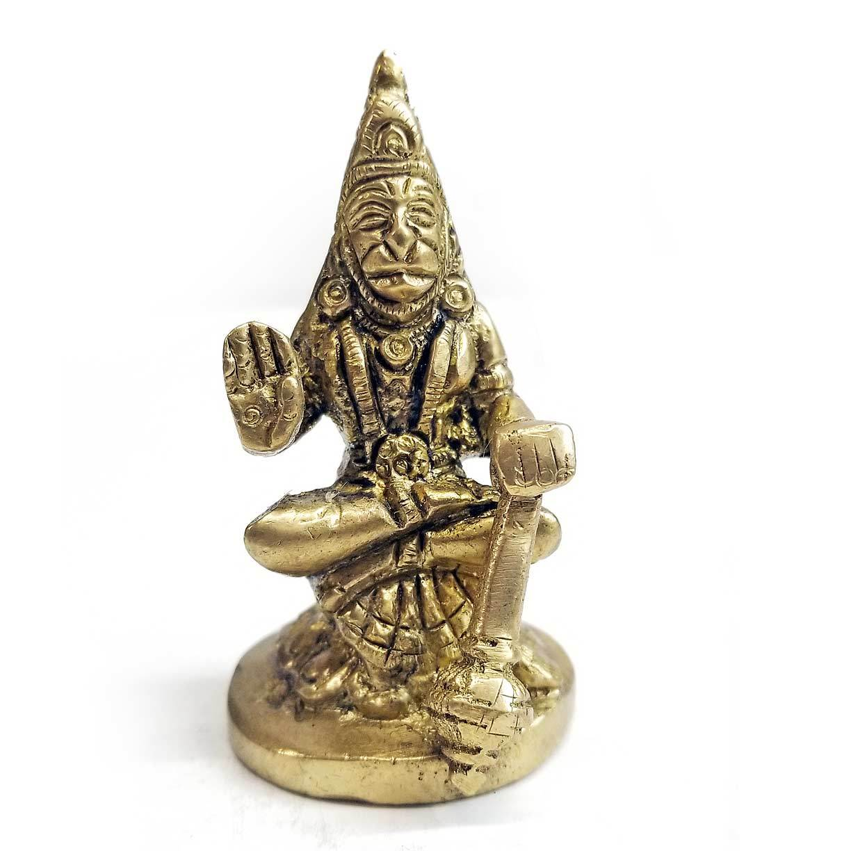Statue | Home Decoration | Hanuman statue | Brass Blessing Hanuman