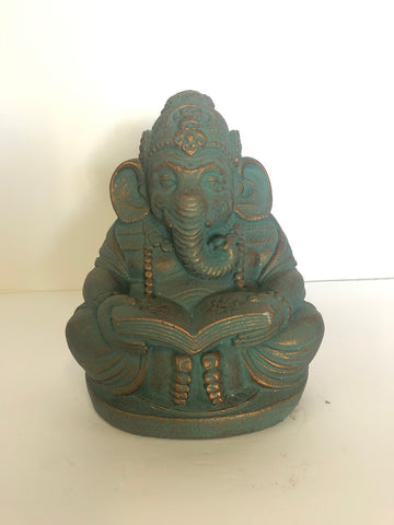 Stone Reading Ganesh