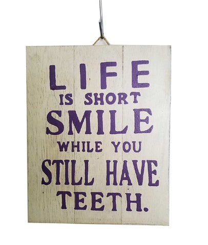 Home Decoration | Wall Hanging | Life Is Short...