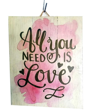 All You Need Is Love | Wall hangings | Home Decoration