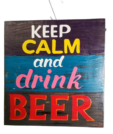Statue | Home Decoration | Keep Calm And Drink Beer