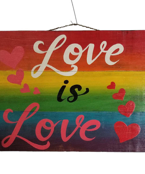 Home Decoration | Wall Hanging | Love Is Love