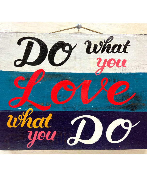 Home Decoration | Wall Hanging | Do What You Love ...