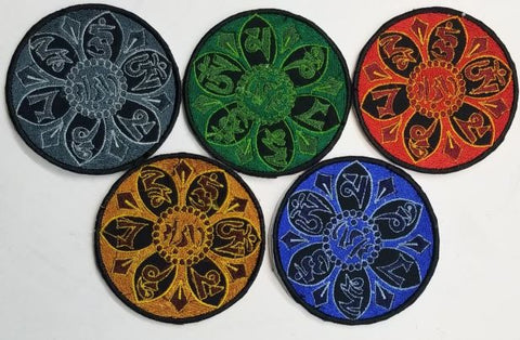 Patch | Mandala Patches (Pack Of 5)
