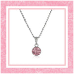 ESTELE TOURMALINE SWAROVSKI BIRTHSTONE PENDANT NECKLACE FOR WOMEN