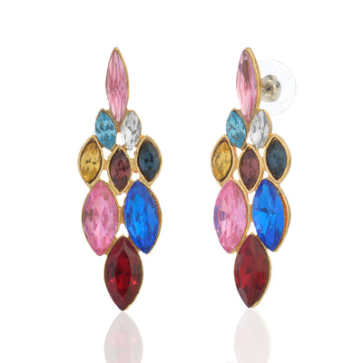 Colourful Stone Earring