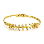 Gold Plated AD Studded Bracelet