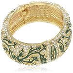 Estele  Gold Plated  and enamel Bracelet for Women and Girls