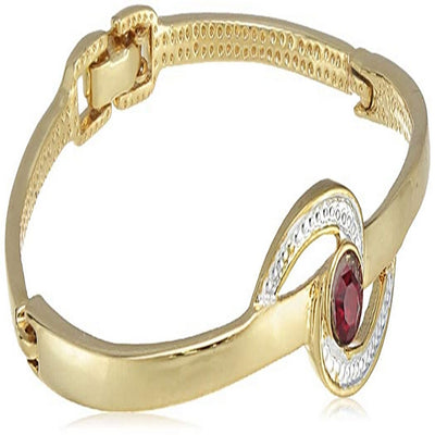 Estele Gold Plated Across The Sky Cuff Bracelet for women