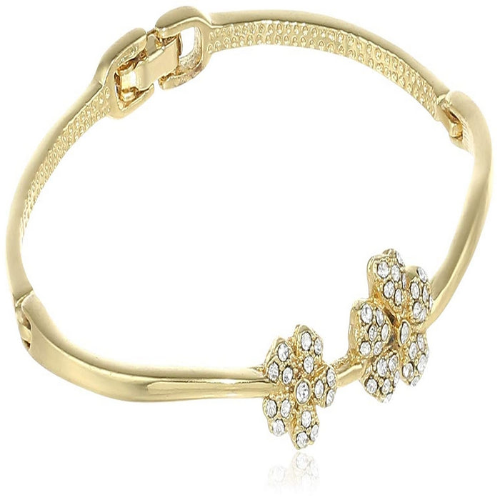Estele  Gold Plated Blossom Cuff Bracelet for women