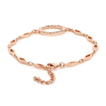 Opala Rose Gold Bracelet Using Swarovski Stones