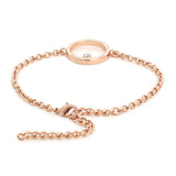 Estele Polaris Rose Gold Bracelet Using Swarovski Stones