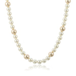 One Line  Pearl Necklace