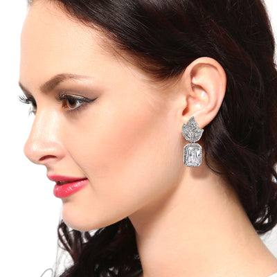 Fancy American Diamond stones Earrings