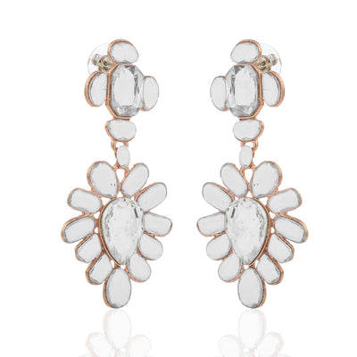 Aiyna Long Statement Earrings