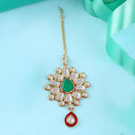Traditional Kundan Maang Tikka for Women