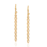 Estele Spiral Twist Earrings