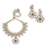 Polki Look Designer Jewelry Women's Necklace Set