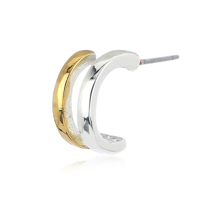 Gold Plated Stud Earrings For Women