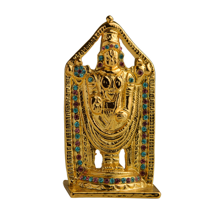 Lord Venkateshwara (Tirupathi Balaji) Idol (BG - with stones)