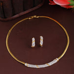 American Diamond CZ Designer Necklace Set