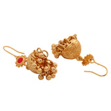 ESTELE - Ethnic Traditional Gold Plated Fancy Earrings