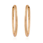 Trendy Fashion Gold Plated Party Wear Hoop Earrings