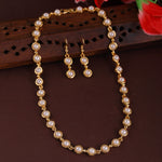 Pearl Studded Traditional Necklace Set
