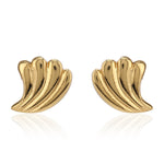 Fancy Gold Tone Studs