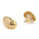 Oval shape stud Earrings