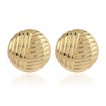 Round stud Fashion earrings