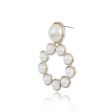 Pearl On Pearl Earrings