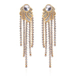 Ethnic Fusion Tassel Dangle Drop earrings