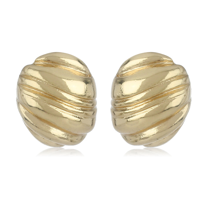 Gold Stripe Studs