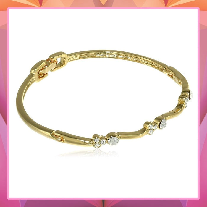 Estele  Gold Plated Star Trail Cuff Bracelet  for women