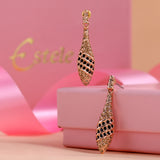 Austrian Crystal Teardrop Earrings