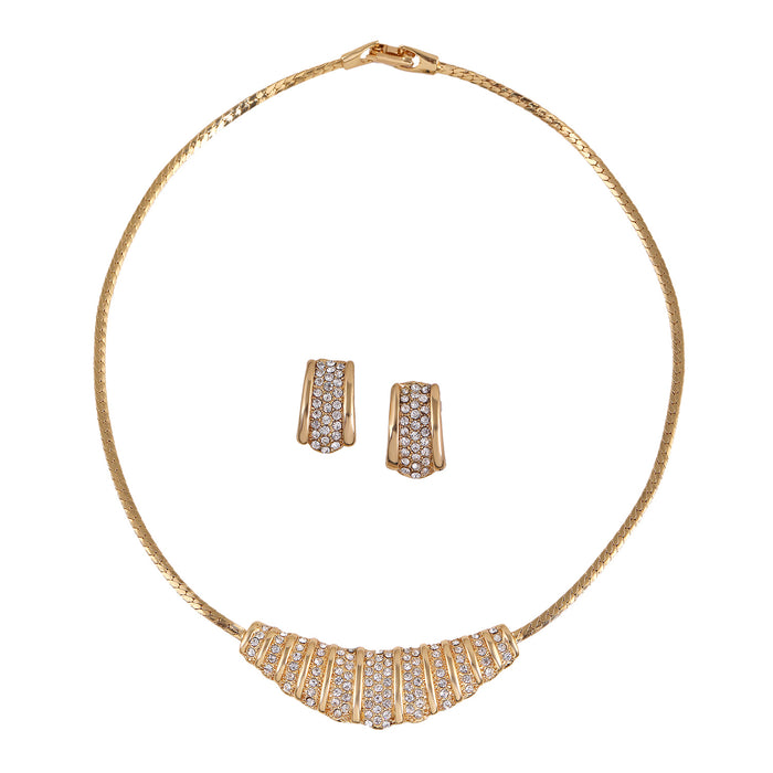 Contemporary AD Diamonds Necklace Set
