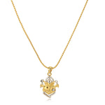 Ganesh Pendant Locket with Chain