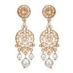 Pearl drop Womens Earrings