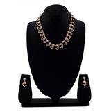 Valentine Collection American Diamond Fashion Necklace