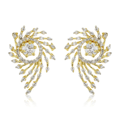 Diamante Earrings Set Of 3